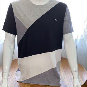 Prps Color Block Striped Shirt